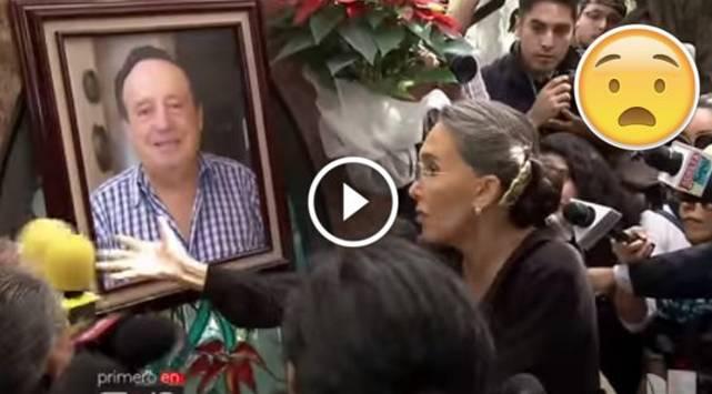 ¡Mira el escándalo que se armó en la tumba de 'Chespirito'!