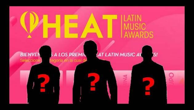 Estos son los nominados a Mejor Artista Masculino en los Heat Latin Music Awards. ¿A cuál le vas?