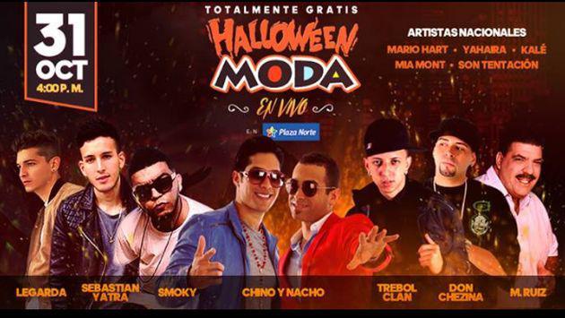¡No te pierdas el 'Halloween Moda' con 'Chino & Nacho' y todos estos artistas!