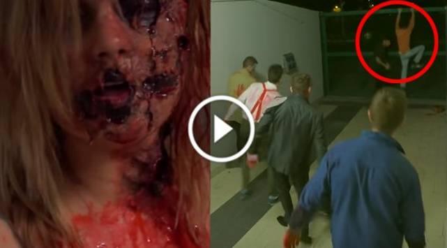 Esta broma con zombies aterroriza gente en Brasil
