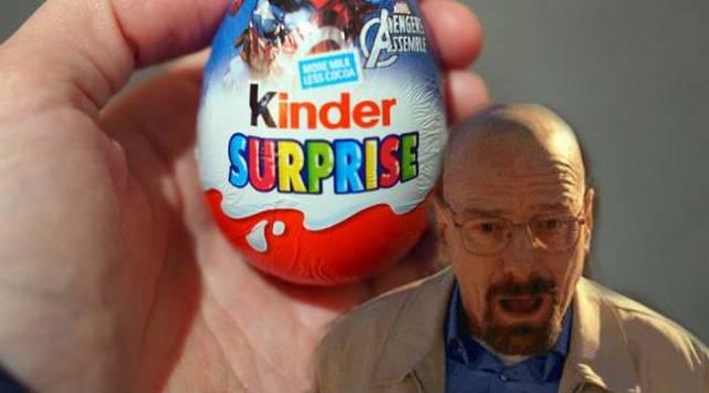 ¡Insólito! Niño encontró un huevo sorpresa y al abrirlo...