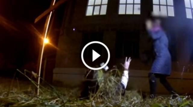 Zombies salen de sus tumbas para matar del susto a la gente ¡Chequea esta broma!