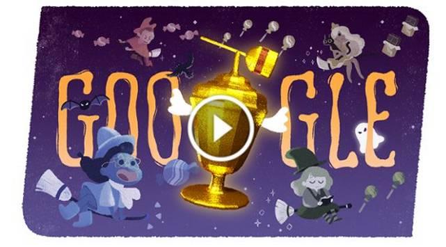 Google te pone a jugar por Halloween con este doodle