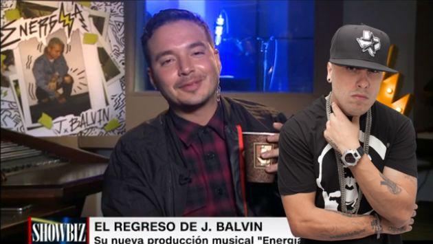 A J Balvin le preguntaron por Nicky Jam y sorprendió con esta respuesta