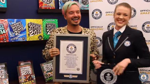 J Balvin entra a récords Guinness con el tema 'Ginza'