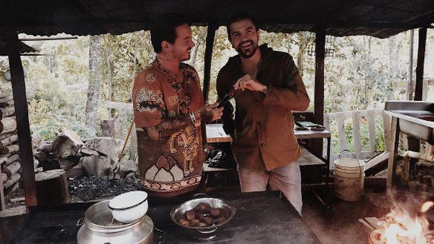 ¿Qué están cocinando J Balvin y Juanes? Mira estas fotos