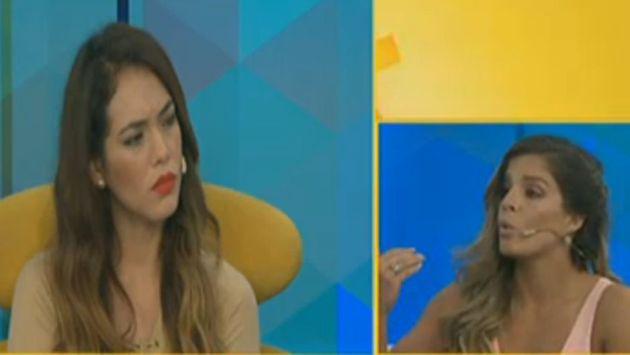 ¡Jazmín Pinedo cuadró a Alejandra Baigorria en vivo por hablar mal de ella en audios!