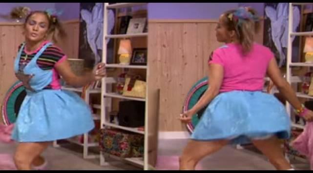 Jennifer Lopez bailó sensualmente en programa de televisión