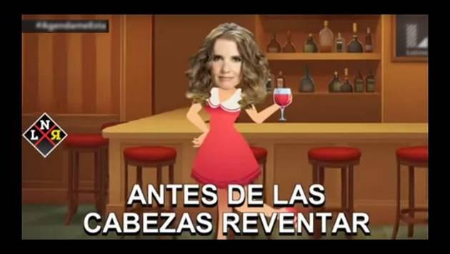 Trolean a Johanna San Miguel con musical de televisión