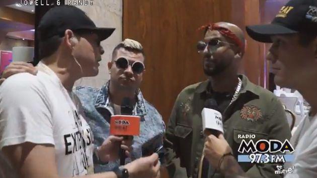 ¡Jowell y Randy conversaron con Carloncho y Renzo Winder! [VIDEO]