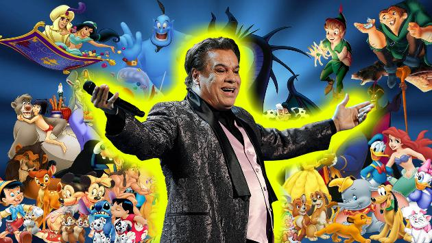 ¿Juan Gabriel poniéndole música a las películas de Disney? No te pierdas esto [VIDEO]