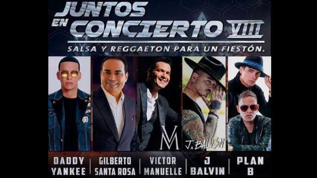 ¡Se viene el 'Juntos en Concierto VIII' con Daddy Yankee, J Balvin y 'Plan B'!