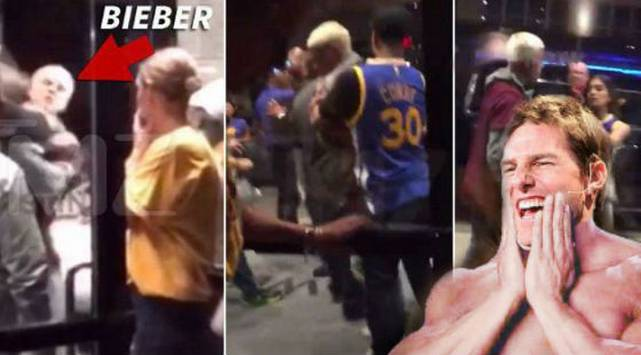 Justin Bieber hizo el ridículo al intentar pelear con un desconocido