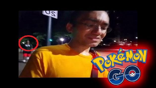Él hacía streaming de 'Pokémon GO' en Twitch y lo que le pasó fue noticia en todas partes [VIDEO]
