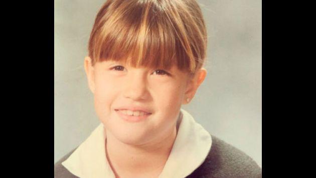¡Qué tal cambio! ¿Reconoces a esta tierna niña?
