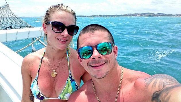 Estas fotos comprueban que Leslie Shaw y Mario Hart regresaron pese a infidelidad
