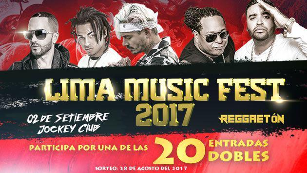 ¡Gana entradas para el Lima Music Fest con J Balvin, Ozuna, Yandel y Zion & Lennox!