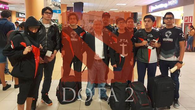 Los peruanos de Infamous Gaming partieron a China para el gran torneo de 'Dota 2'