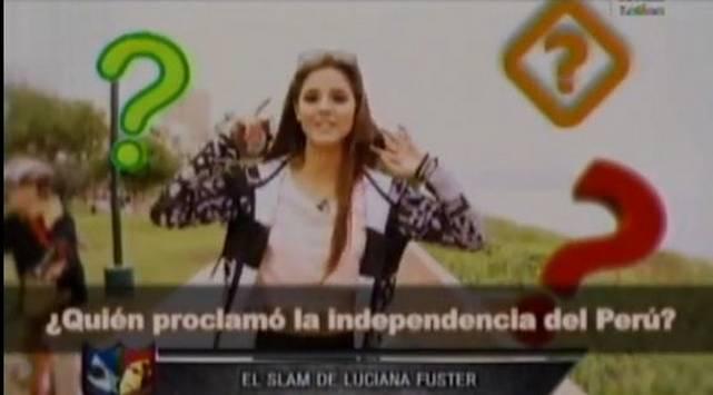 ¡Qué roche! Le preguntaron por la Independencia del Perú y así respondió
