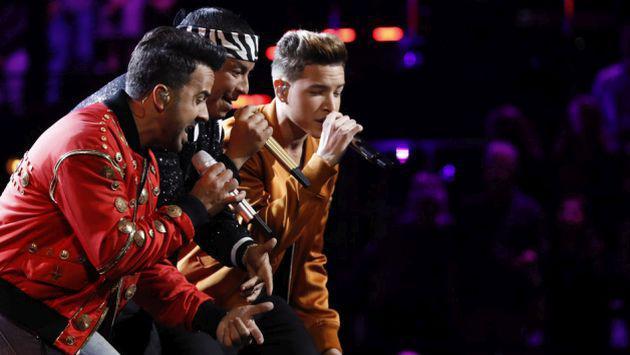¡Revive la presentación Luis Fonsi y Daddy Yankee en la final de The Voice! [FOTOS Y VIDEO]