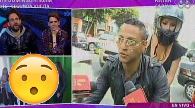 ¡Uy! Mira la reacción de Maicelo al ser abordado por la prensa de espectáculos