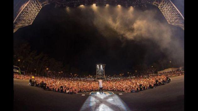 ¡Maluma logró esta increíble cifra de asistentes en concierto en Argentina! [FOTOS Y VIDEO]