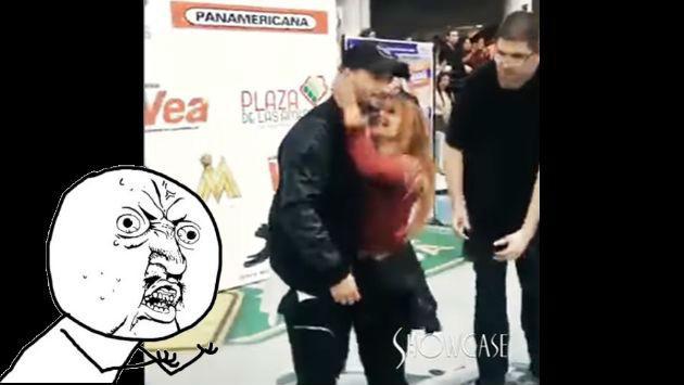 ¡Quiso demostrarle su amor a Maluma, pero terminó lastimándolo! [VIDEO]