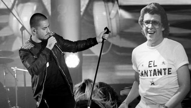¡Maluma se mandó con tremendo homenaje a Héctor Lavoe!