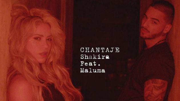 ¡Maluma dio un pequeño adelanto de 'Chantaje', tema junto a Shakira!
