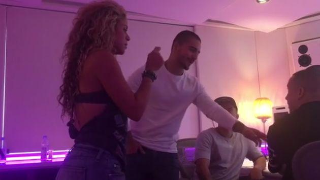 ¡Así se grabó 'Chantaje', éxito de Maluma y Shakira! [VIDEO]