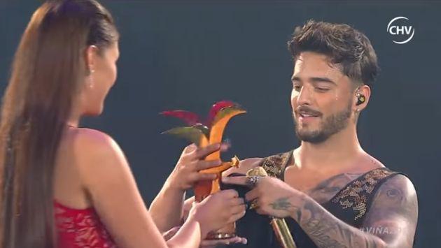 ¡Maluma la rompió en Viña del Mar y se fue con gaviotas de plata y oro! [FOTOS Y VIDEO]