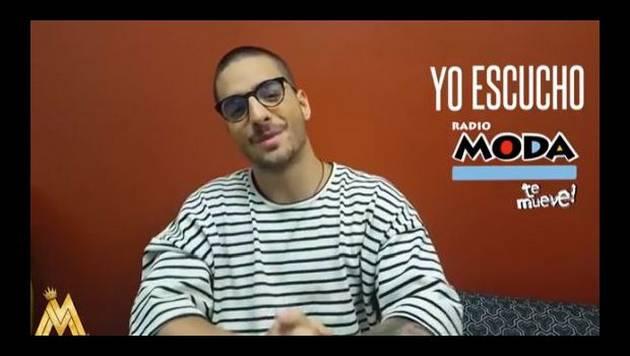 ¡Maluma la tiene clara y confirma qué radio escucha!