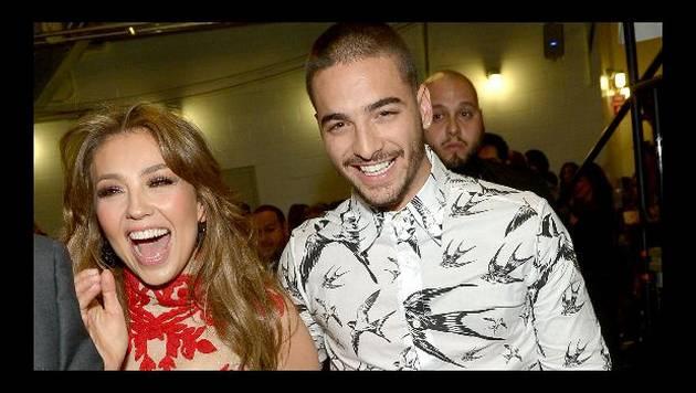 ¡Por fin! Maluma y Thalía estrenan video de 'Desde esa noche'