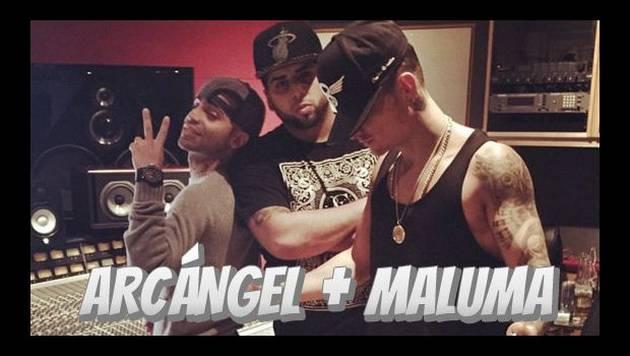 Maluma y Arcángel juntos por primera vez en canción