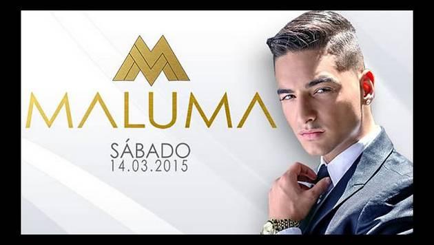 Gana entradas dobles para Maluma en Tumbao Sur
