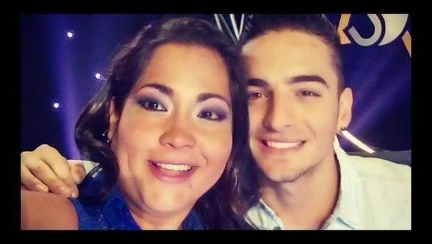 Maluma se casó con Katia Palma en televisión
