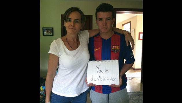 Mamá inició esta campaña en Facebook y su hijo le respondió así [FOTOS]