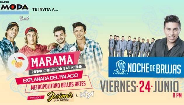 ¡Salió la lista de ganadores del concierto de MÁRAMA en Arequipa!