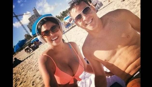 Maricarmen Marín disfruta de un día de playa y se luce en bikini [FOTOS]