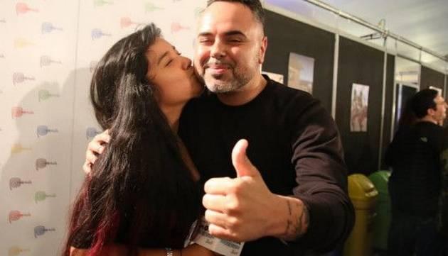 Mira las fotos de Marianita en el backstage de Mega Estrellas Latinas