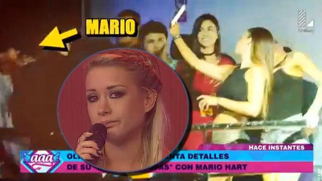 ¡Audio revela que entre Mario y Olinda no solo hubo un beso sino que terminaron en el...!
