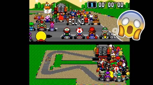 ¿Te imaginas cómo se vería Super Mario Kart con 101 jugadores? ¡Chequea este video!