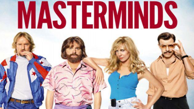 ¡Salieron los ganadores de los 5 packs de la película MASTERMINDS!