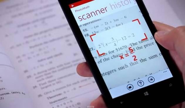 Aplicación de celular resuelve problemas de matemáticas en segundos