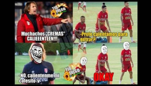 Vacílate con los memes de la previa del Perú vs. Venezuela