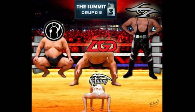 Not Today en The Summit 3: memes de su primer encuentro contra LGD