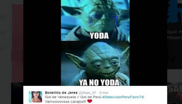 Mira los mejores memes del partido Perú - Venezuela