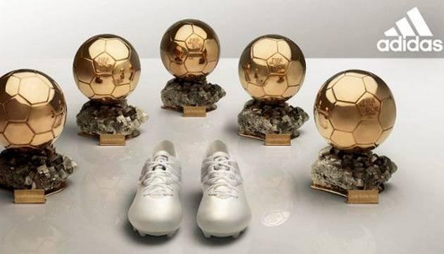 ¡Regalazo! Mira lo que Adidas le dio a Messi por su quinto Balón de Oro