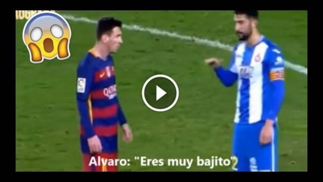 Jugador se burla del tamaño de Messi ¡No creerás cómo le respondió el argentino!
