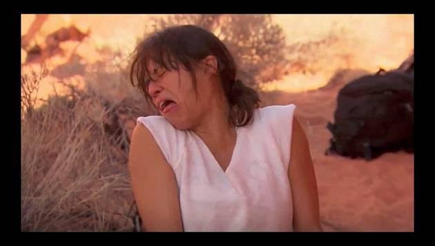 Michelle Rodriguez come una rata cocinada en su propia orina